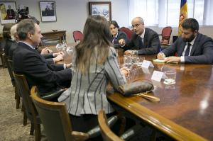 Andorra -Antoni Marti habla con socios CEAL -Med Resol -141111