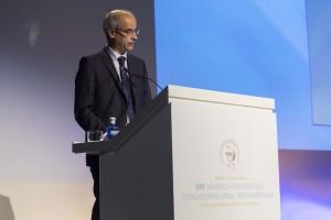 Antoni Martí, jefe del Gobierno de Andorra, en la XXV Asamblea Plenaria CEAL