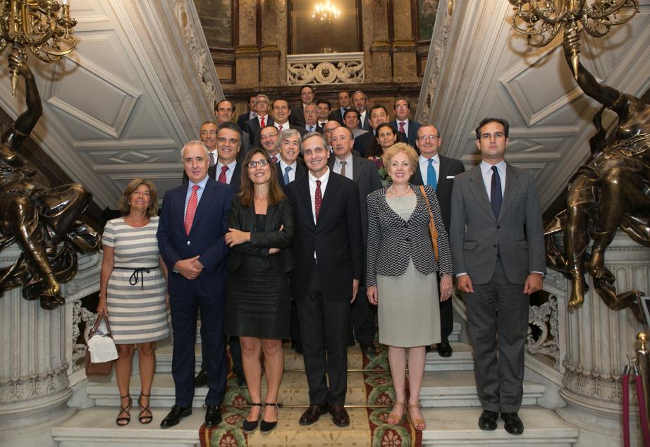 Daniel Servitje, presidente de Bimbo, comparte un almuerzo de trabajo con los socios del CEAL Ibérico