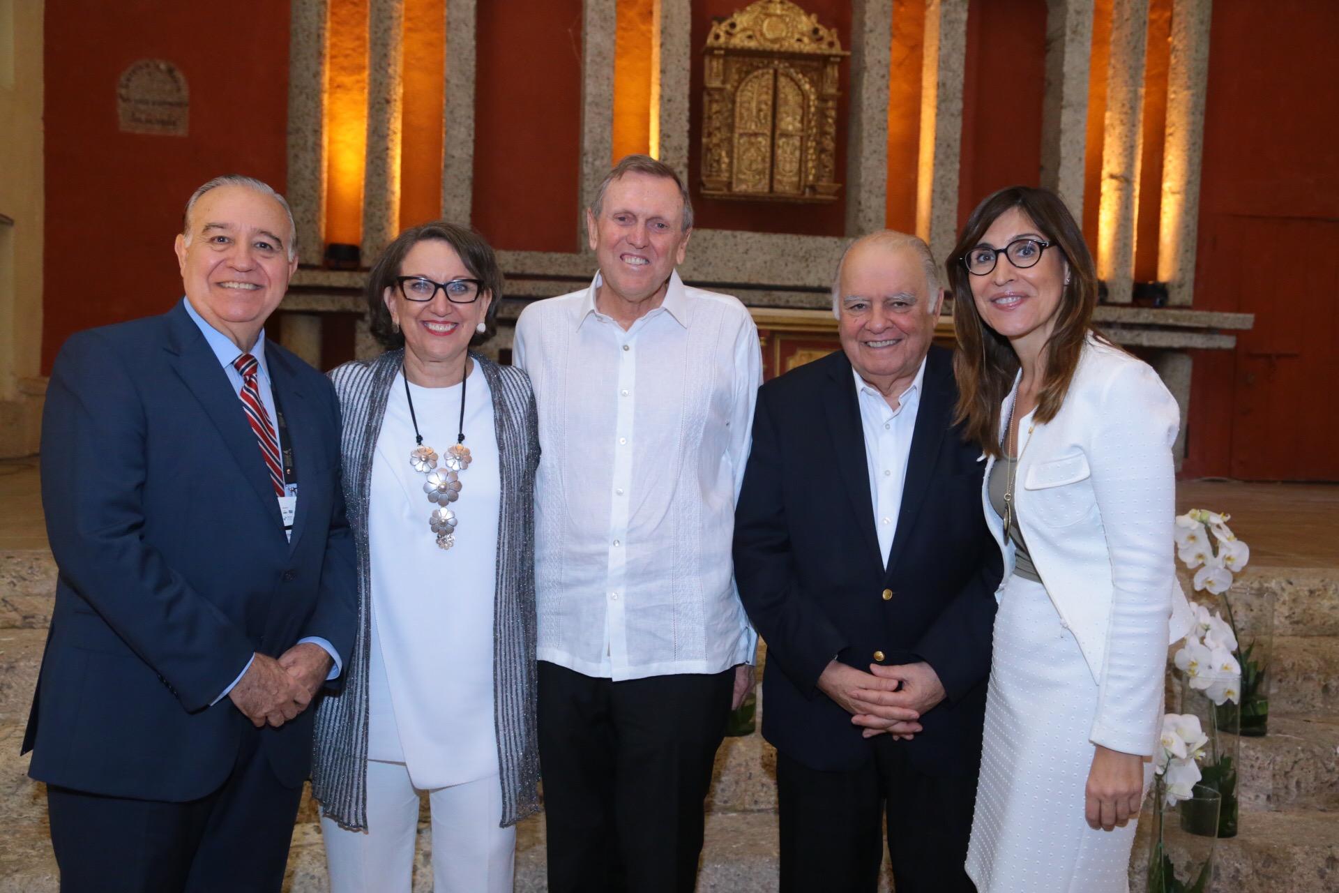El CEAL Ibérico homenajea a los galardonados del Premio Enrique V. Iglesias en Cartagena de Indias