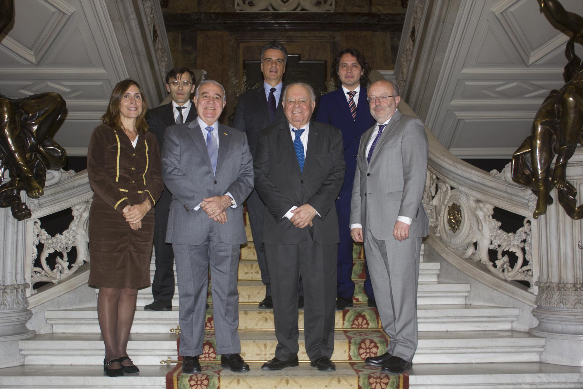 Plácido Arango, fundador del Grupo Vips, galardonado con el IV Premio Enrique V. Iglesias al desarrollo del Espacio Empresarial Iberoamericano