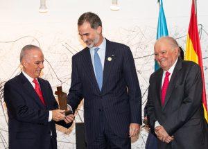 Entrega del galardón a Alejandro Bulgheroni en La Antigua
