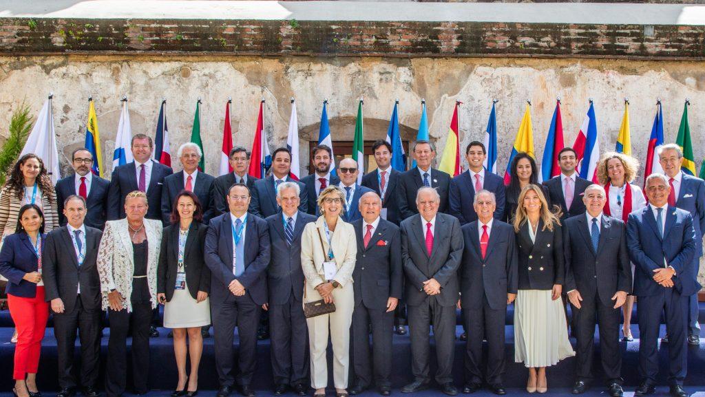 Asistentes a la entrega del V Premio Enrique V. Iglesias en La Antigua