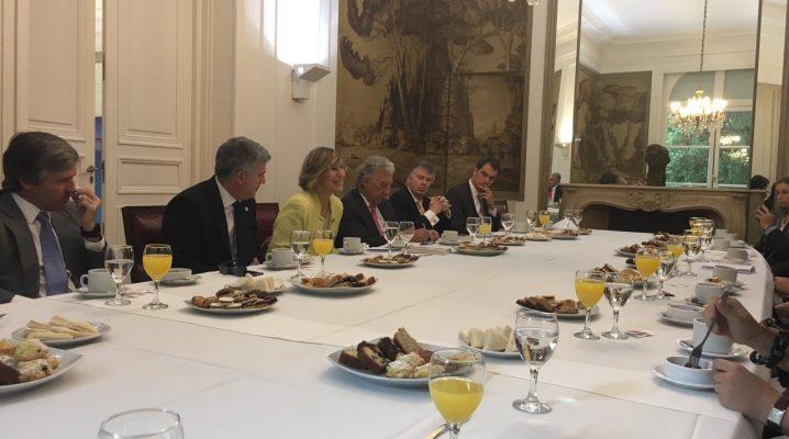 CEAPI celebra un encuentro empresarial en la Embajada de España en Argentina