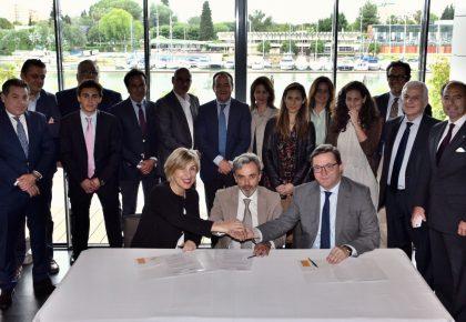 CEAPI y CESUR firman un convenio para potenciar las relaciones empresariales con Iberoamérica