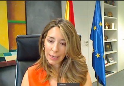 Xiana Méndez destaca el firme compromiso de España en generar las condiciones para crear un Espacio Iberoamericano de prosperidad y cohesión