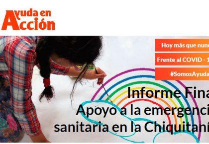 #JuntosMásQueNunca | Apoyo a la emergencia sanitaria en Chiquitanía (Bolivia)