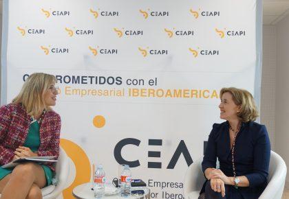 Ana de la Cueva destaca la oportunidad que suponen los fondos europeos de reconstrucción para España