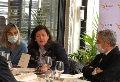 """Gema Sacristán: """"En América Latina el sector privado está comprometido con la recuperación, quiere ser parte de la solución"""""""