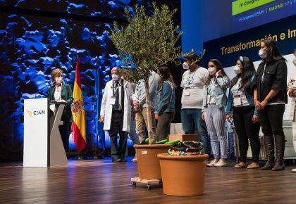 Los jóvenes de Scholas Ocurrentes plasman sus vivencias en una canción y la presentan durante del IV Congreso iberoamericano CEAPI